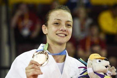 Jogos Panamericanos Toronto 2015 - Nathália Brígida ganhou a medalha de bronze na categoria Ligeiro (48kg)/FOTO: WILLIAM LUCAS/INOVAFOTO
