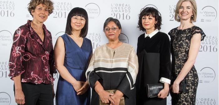 L'Oréal-UNESCO Awards 2016