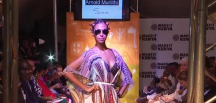 UNCTAD promoveu desfile de moda queniana durante conferência em Nairóbi. Foto: TV ONU/ Reprodução
