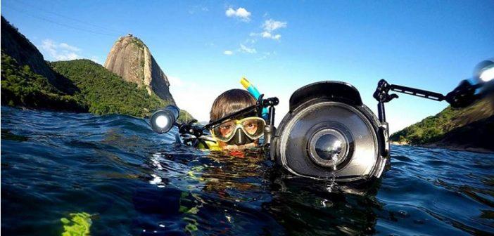 O biólogo Ricardo Gomes defende a urgência da despoluição da Baia de Guanabara. Foto: Ricardo Gomes