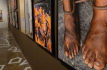 Rio de Janeiro - Exposição Sankofa: Memória da Escravidão na África, resultado da viagem do fotógrafo César Fraga por países africanos fica em cartaz até 22 de dezembro na Caixa Cultural (Fernando Frazão/Agência Brasil)