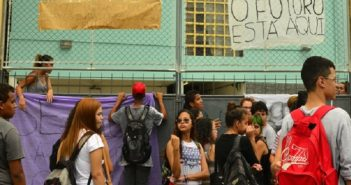 Secundatistas ocupam escolas em todo o Brasil contra propostas de atraso do governo Michel Temer. FOTO: EBC