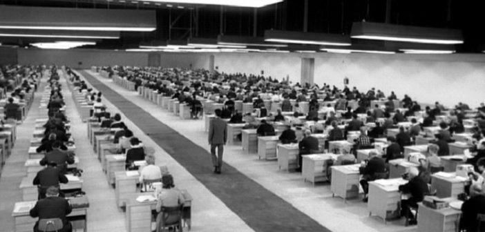 """CENA DO FILME """"O PROCESSO""""(THE TRIAL) DE ORSON WELLS/1962/DIVULGAÇÃO"""