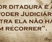 A DITADURA E O PODER JUDICIÁRIO SEGUNDO RUI BARBOSA